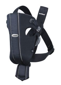 Baby Bjorn basic carrier - comfortable & very easy to use at home and on errands. Car seat to carrier process is easy in this one.