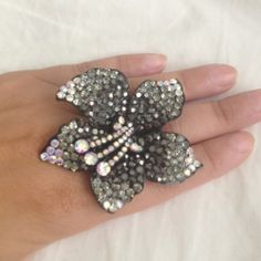 Beautiful Flower Statement Ring - $17