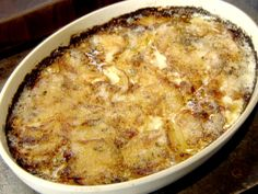 Potatoes Gratin recipe from Tyler Florence
