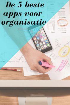 Met deze 5 onmisbare organisatie apps kun je jouw persoonlijke leven en werk tot in detail organiseren en plannen zonder dat daar een notitieboekje of agenda aan te pas komt.