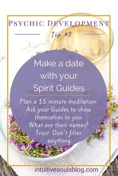 Carving out time is super important to getting to know your Spirit Guides. Here's what to do and the questions you can ask them. Remember to listen to your intuition and TRUST the messages that come forward. Psychic Development, Spiritual Development, Online Psychic, A Course In Miracles, Psychic Mediums, Psychic Abilities, Psychic Readings, Spirit Guides, Book Of Shadows