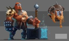 ArtStation - Barbarian Art Test, Gary Laib