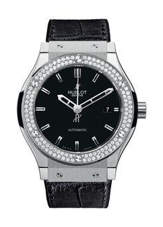 Classic Fusion Titanium Diamonds Automatic watch from Hublot