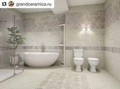 Beautiful bathrooms designed with our ceramic tile series. Beautiful Bathrooms, Bathtub, Ceramics, Inspiration, Tile, Design, Twitter, Decor, Ideas