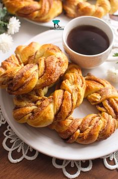 Wianuszki cynamonowe Onion Rings, Tortellini, Sweet Bread, Tandoori Chicken, Chicken Wings, Shrimp, French Toast, Food And Drink, Sweets