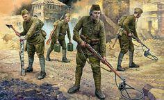 Солдаты мировых войн и военных конфликтов