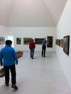 """Unbedingt mal hin: ins Kunstmuseum Ahrenshoop! Tolle Werke ...aktuelle Ausstellung """"Um uns ist ein Schöpfungstag-Von der Künstlerkolonie bis heute"""""""