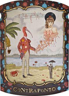Contraponto, trabalho meu amigo Rafael Silveira. Muito FODA!  Pra quem quiser conhecer mais:  www.rafaelsilveira.com