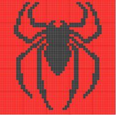 Marvel Superhero Logo Crochet Charts Pattern ONLY