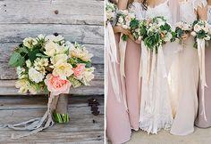 Eine einfach DIY Idee für den Brautstrauß | Friedatheres