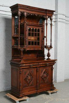Renaissance Diningroom set - Diningroom sets - Belgium Antique Exporters