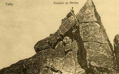 Tatry, przejście na Mnichu - Górale i Tatry na starych fotografiach