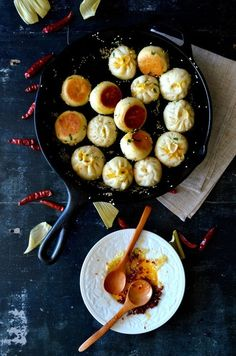 Carrot Ginger Pork Buns. #food