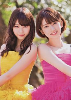 Nishino Nanase (西野七瀬), Nanasemaru (ななせまる), Naachan (なぁちゃん) & Hashimoto Nanami (橋本奈々未) Nanamin (ななみん) - Nogizaka46 - #NGZK46 #idol #japan #jpop #beautiful #gorgeous