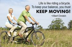 It is never too late to get moving! We can get and stay active as we age.