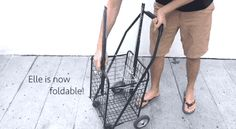 Being foldable makes ELLE much more space-saving