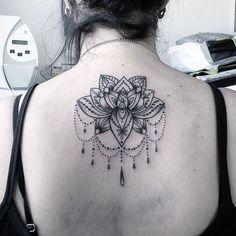 Trabalho!. Flor de lotus! #tattoocaldara #tattoo #inspirationtattoo #tatuagem #tatuagensfemininas ...