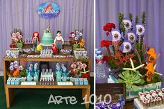 festa ariel pequena sereia - Pesquisa Google