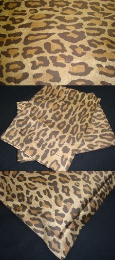 2 TWO EURO EUROPEAN PILLOW COVER SHAM w NEW RALPH LAUREN VENETIAN LEOPARD FABRIC #Handmade #CUSTOMMADE