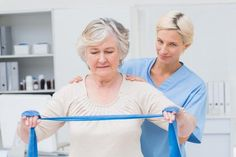 Strength training builds strong muscles and bones while improving seniors' ability to carry out activities of daily living. According to MedlinePlus regular weight training fights age-related muscle loss. The Centers for Disease Control and Prevention re Pilates, Natural Cure For Arthritis, Natural Cures, Activities Of Daily Living, Physical Activities, Band Workouts, Exercise Bands, Gym Workouts, Chair Exercises