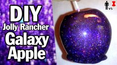 Galaxy Apples....Glapples? I have tried it, AMAZING! But you might want to cut after you have the jolly glitter ranchers on there. A little hard to eat but it is still so sweet!
