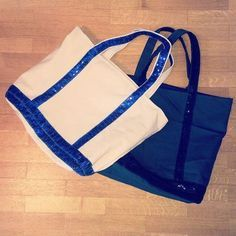 Tuto couture sac imitation vanessa bruno bleu et blanc sequin ruban paillettes p. Sacs Tote Bags, Couture Week, Little Bag, Bag Sale, Fashion Bags, Gym Bag, Sewing Patterns, Sequins, Diy Accessories