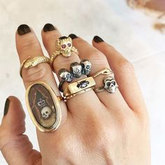 Esqueleto Ring Stacks