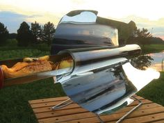 GoSun stove reinvents solar cooking