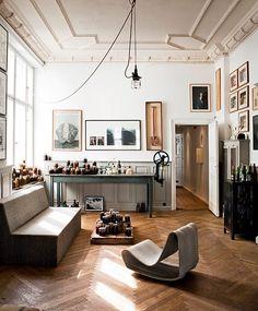 creative space of Frank Leder.