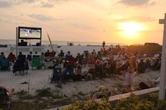 To do: Watch a baseball game on the beach