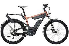 Riese & Müller Delite e-bike features dual batteries, belt drive, and full suspension Best Electric Bikes, Electric Bicycle, Electric Vehicle, E Bike Test, Bmx, Velo Retro, Velo Design, E Biker, Power Bike