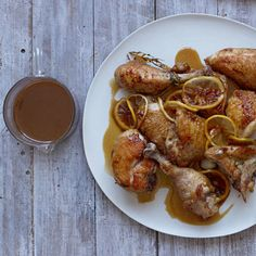 Gordon Ramsay's sticky lemon chicken. For the full recipe click the picture or visit redonline.co.uk