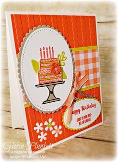 Piece of Cake Card Class Pics - Designz By Gloria