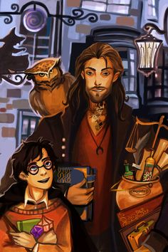 Imagine how HAPPY Harry would be if he had Sirius. by nastjastark