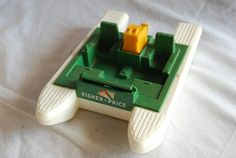 This is an original vintage Fisher Price Pontoon Boat from the It is in good used condition. Jouets Fisher Price, Fisher Price Toys, Vintage Fisher Price, Best 90s Cartoons, Cartoon Toys, 80s Kids, Pontoon Boat, Little People, Mobile Wallpaper