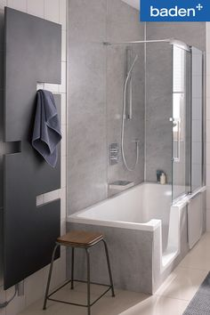 Home Reno, Small Bathroom, New Homes, Bathtub, House Design, Interior, Showers, Home, Bath
