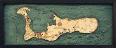 Grand Cayman Wood Chart