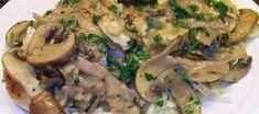 Μανιτάρια ψητά με μπαλσάμικο Greek Recipes, Potato Salad, Stuffed Mushrooms, Pork, Appetizers, Potatoes, Chicken, Meat, Fruit