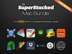 The SuperStacked Mac Bundle - Over $3,000 Worth Of Premium Developer & Designer Tools
