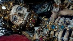Rome's incredible jeweled skeletons.