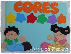 """Encomendas das professoras Fernanda e Luciana.   As salinhas de aula da EMEI """"Maria Conceição Trumbact""""   vão ficar mega coloridas!!! :)   ..."""