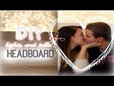 DIY Room Decor: Lights and Tulle Headboard with Jerry!