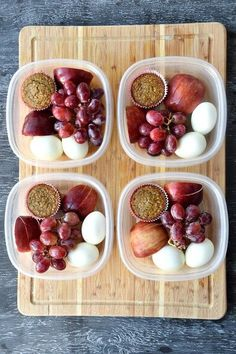 Healthy meal prep, healthy snacks и lunch meal prep. Lunch Snacks, Clean Eating Snacks, Lunch Recipes, Gourmet Recipes, Breakfast Recipes, Healthy Eating, Meal Prep Breakfast, Breakfast To Go, Breakfast Healthy