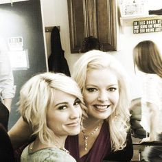 """Melissa Peterson & Chelsea Kane – My hair inspiration and favorite """"Riley"""" style"""