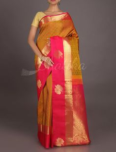 Rajitha Flowers And Butterflies #RealZari #KanjeevaramSilkSaree