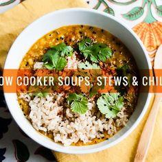 17 Satisfying Vegetarian Slow Cooker Soups, Stews & Chilis