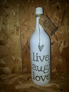 Live, laugh, love. Facebook: Being creative