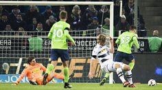 Spielszenen Borussia Mönchengladbach gegen VfL Wolfsburg | Bildquelle: imago