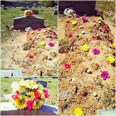 1000+ images about grannys different grave decorations on ...