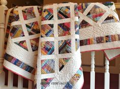 Mile a minute quilt 001